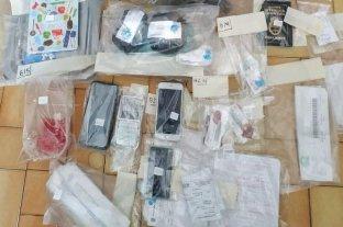 Policías detenidos tras 20 allanamientos por narcotráfico en Rosario, Rufino y Venado Tuerto