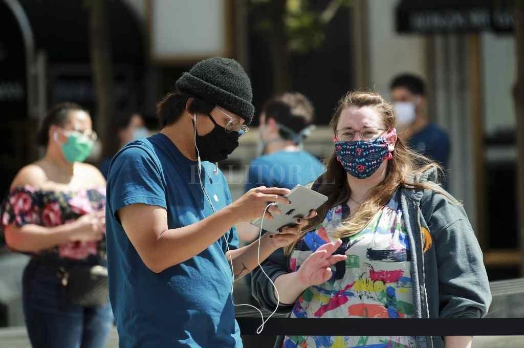 Sólo el 35% de los 5.347 neoyorkinos que dieron positivo en las primeras dos semanas del programa dieron información sobre contactos cercanos a los rastreadores.   Crédito: Xinhua