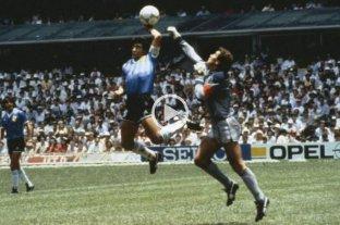 Se cumplen 34 años de la victoria de Argentina ante Inglaterra en el Mundial 1986