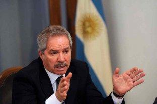 """Solá dijo que el FMI """"ha tenido actitudes de alta comprensión"""" hacia la Argentina"""