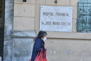 Hay cinco personas internadas con coronavirus en el hospital J. M. Cullen -  -