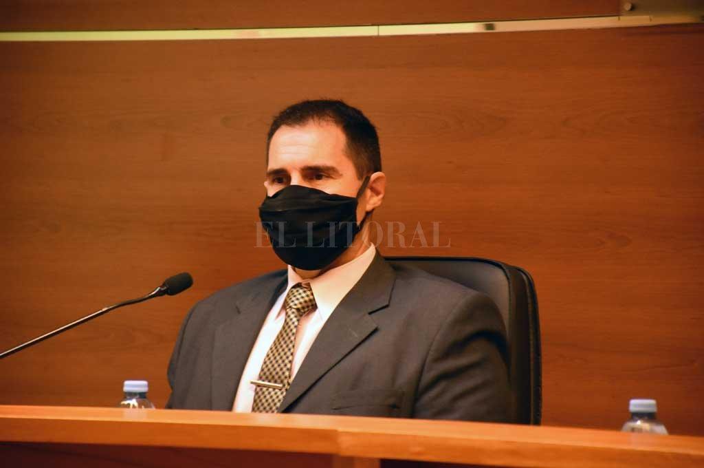 El juez José García Troiano dictó medidas alternativas para el imputado, entre las que cuenta la prohibición de contacto por cualquier medio con la víctma Crédito: Manuel Alberto Fabatía