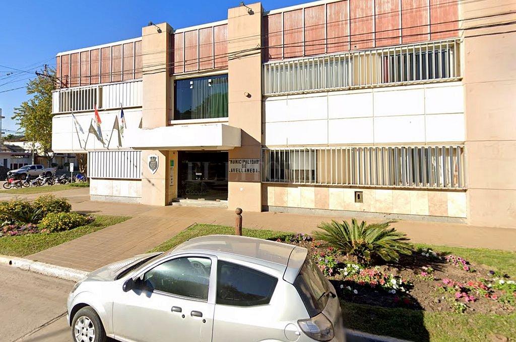 Municipalidad de Avellaneda. Crédito: Captura digital - Google Maps Streetview