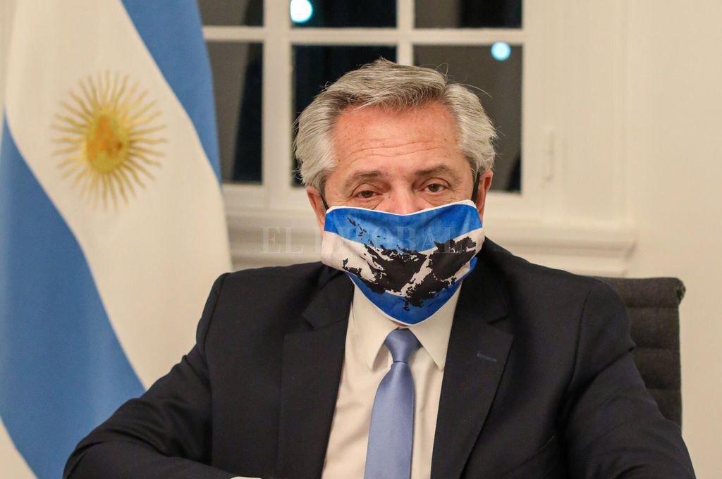 El presidente Alberto Fernández.  Crédito: Archivo El Litoral