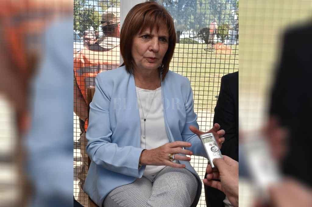 """""""Nos ponemos a disposición tanto del Gobierno Nacional como del Provincial de Santa Fe"""", dijo la presidente del partido opositor.  Crédito: Guillermo Di Salvatore"""