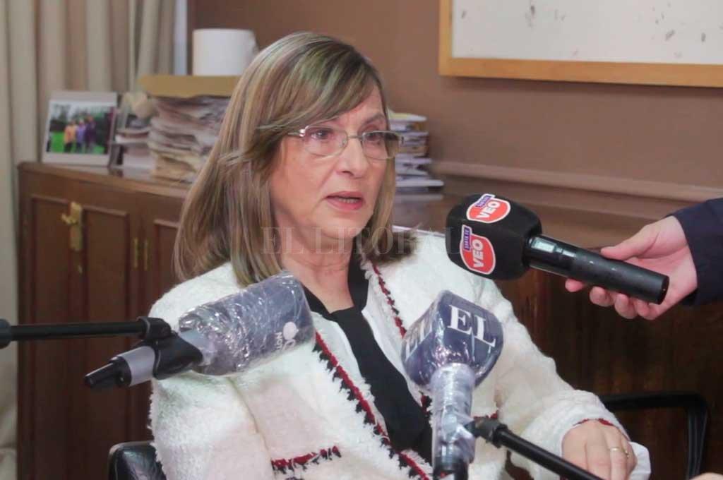 María Victoria Stratta, inspectora general de Personas Jurídicas de la provincia de Santa Fe. Crédito: El Litoral