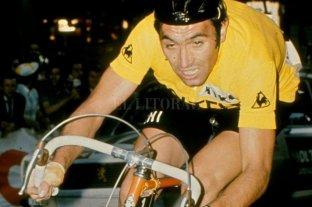 """Eddy Merckx: """"El ciclismo actual es completamente diferente"""""""
