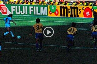 30 años del gol de Caniggia a Brasil