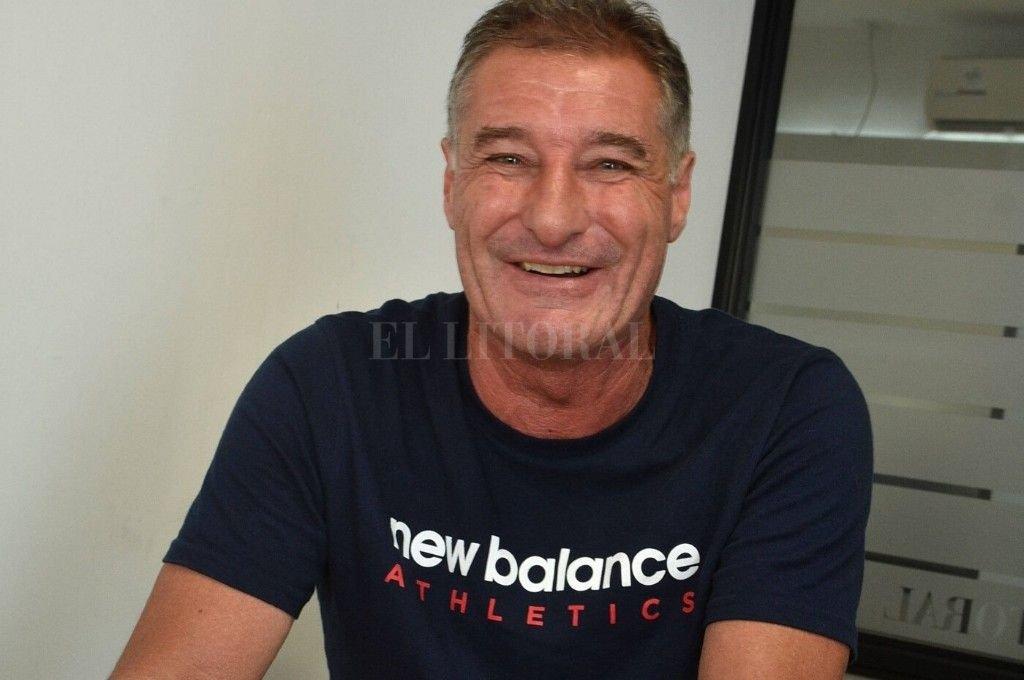 Gustavo Pueyo, presidente de la Liga Santafesina, confía en que la temporada 2020 tendrá acción a pesar de la pandemia de coronavirus. Crédito: Guillermo Di Salvatore