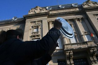 La cúpula de Vicentin desembarcó este martes en la Casa de Gobierno