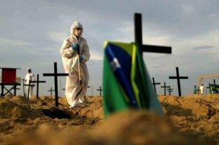 Brasil superó las 60.000 muertes por coronavirus