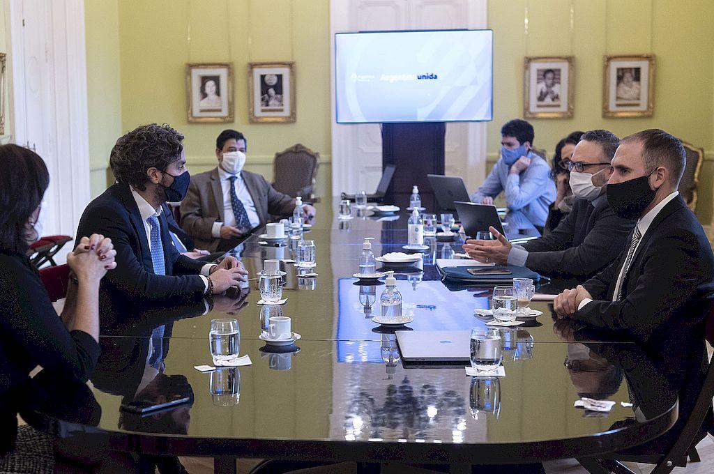 La reunión de Gabinete Económico se realizó este miércoles por la mañana en la Casa Rosada. Crédito: NA
