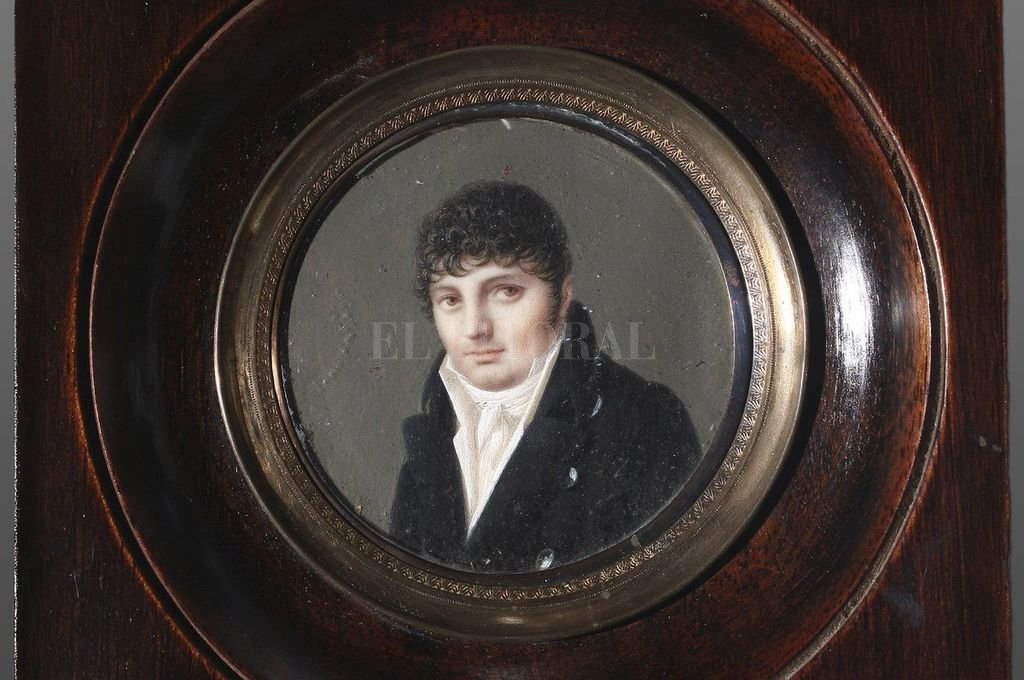 Jean Francois Boichard. Retrato de Manuel Belgrano, 1793. Crédito: Archivo El Litoral
