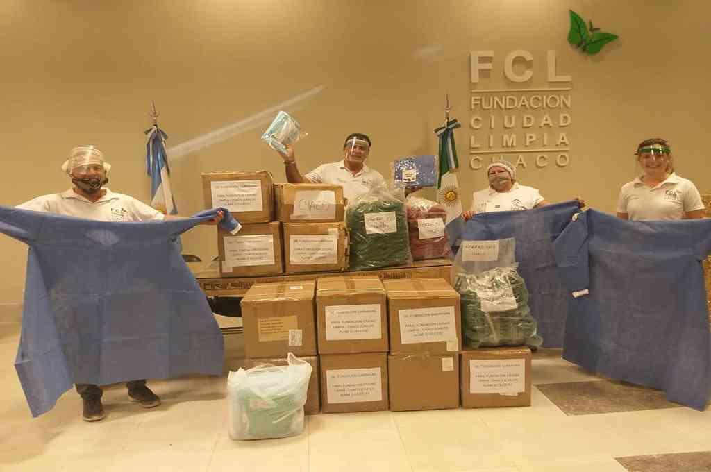 La Fundación Garrahan envió donaciones de insumos a médicos del Hospital