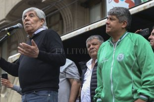 Moyano anunció un paro de camioneros y no hay recolección de residuos en Buenos Aires