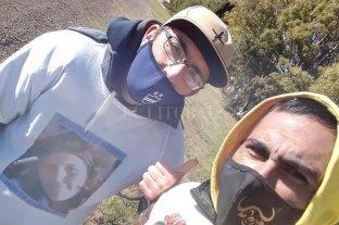Caminará 630 kilómetros para pedirle justicia al presidente Alberto Fernández