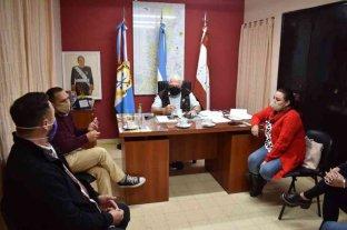 Sosa se reunió con el secretario provincial Gustavo Chara
