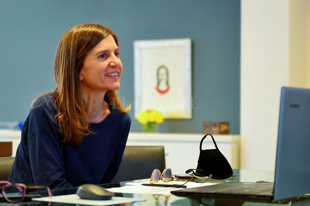 """Fernanda Raverta: """"Hay que garantizar un piso de oportunidades para acceder a un trabajo formal que dignifique"""". Crédito: NA"""