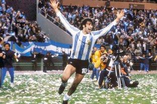 """Kempes polémico: """"El único argentino campeón del mundo y goleador fui yo"""""""