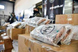 Incineraron más de una tonelada de drogas en Ezpeleta