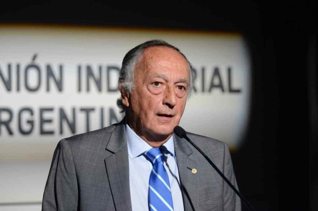 Miguel Acevedo, presidente de la UIA. Crédito: Gentileza