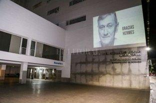 El CEMAR también homenajea a Hermes Binner