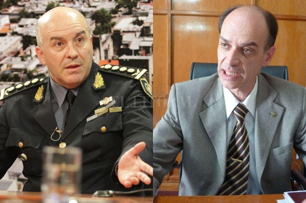 Rafael Grau y Omar Odriozola. Crédito: Pablo Aguirre / Archivo