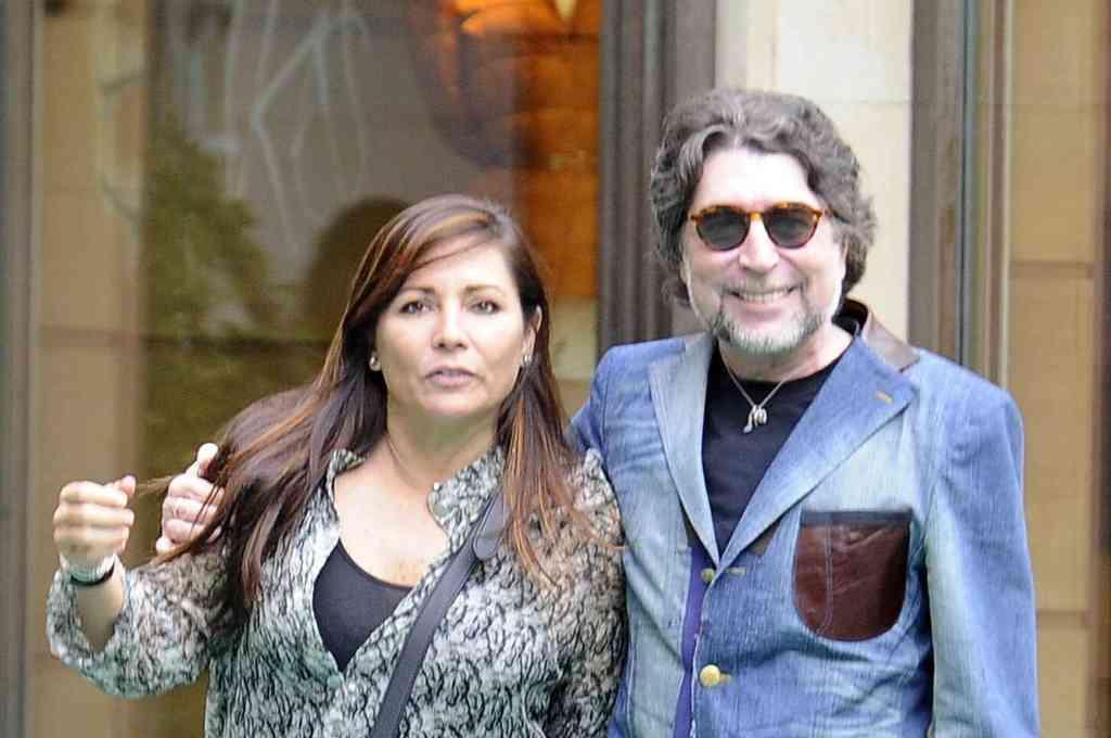Joaquín Sabina y Jimena Coronado se casaron este lunes en Madrid. Crédito: Gentileza