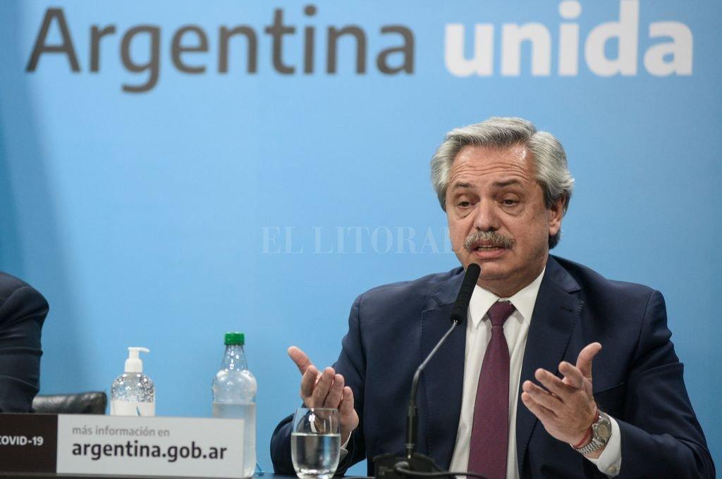Alberto Fernández Crédito: Archivo El Litoral