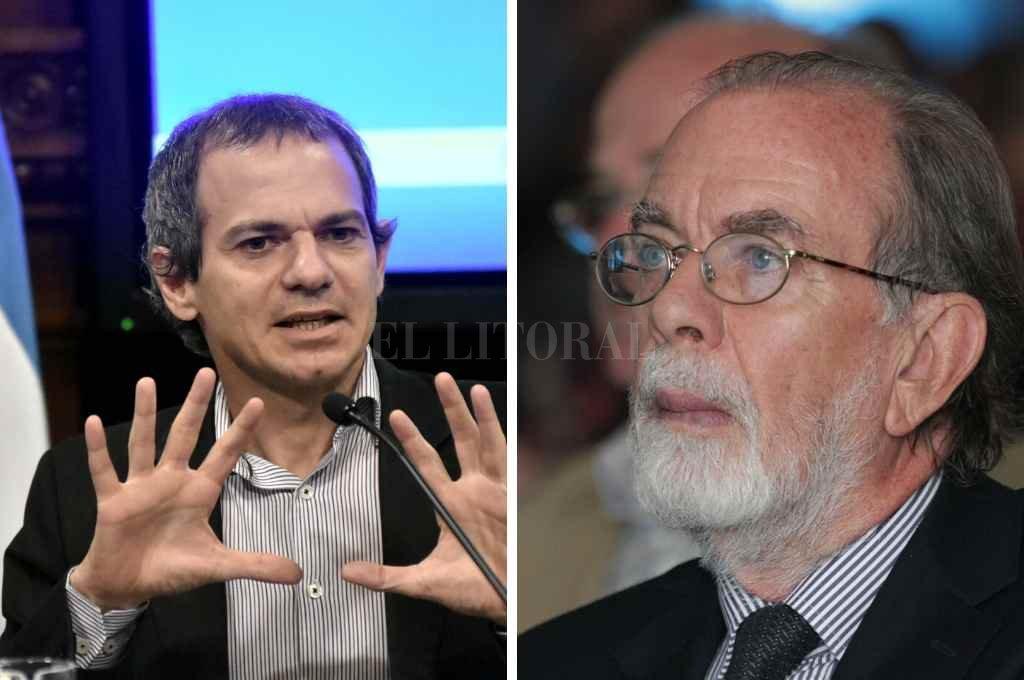 Lucas Llach y Javier González Fraga.   Crédito: Gentileza