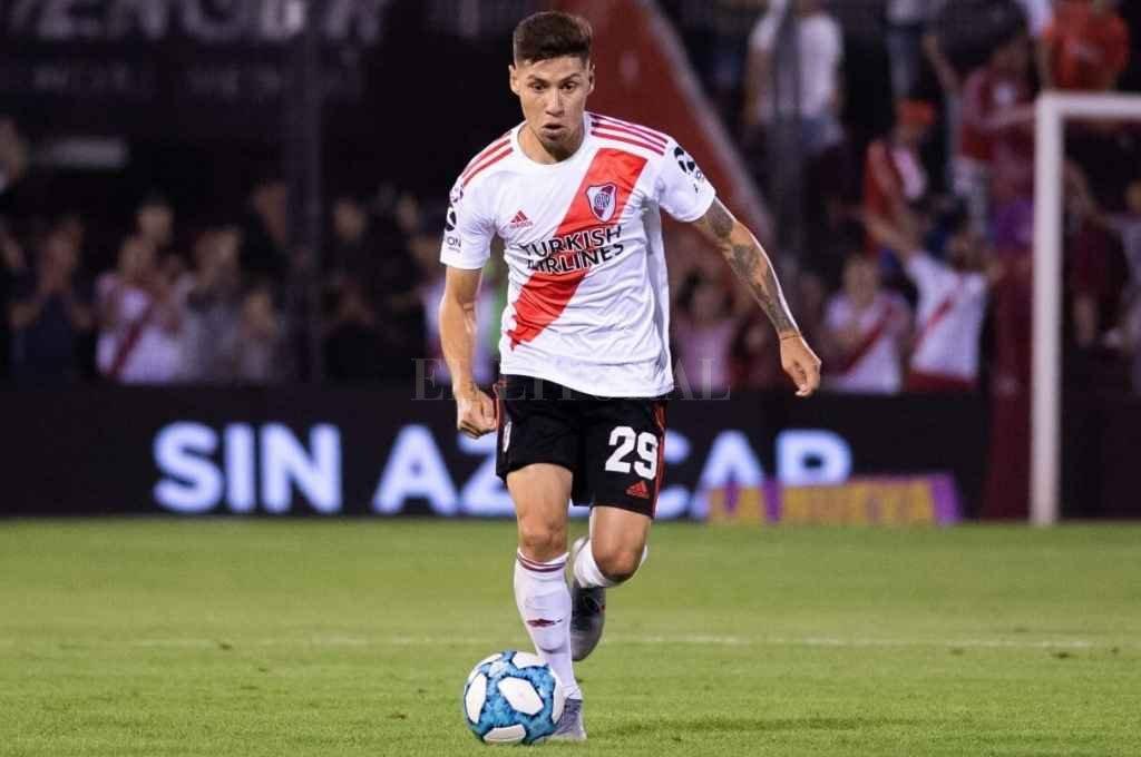 Lucas Montiel, el jugador a vender por River.    Crédito: Archivo
