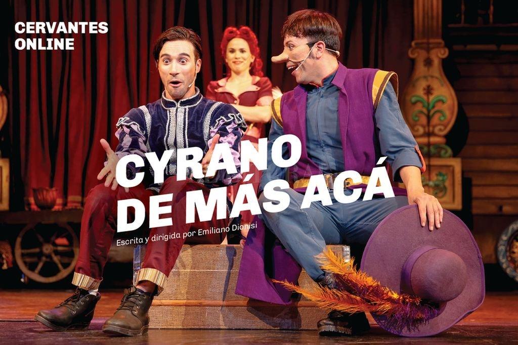 En esta propuesta para todo público, Emiliano Dionisi presenta una lectura dramatúrgica y escénica de Cyrano de Bergerac, de Edmond Rostand. Crédito: Gentileza producción