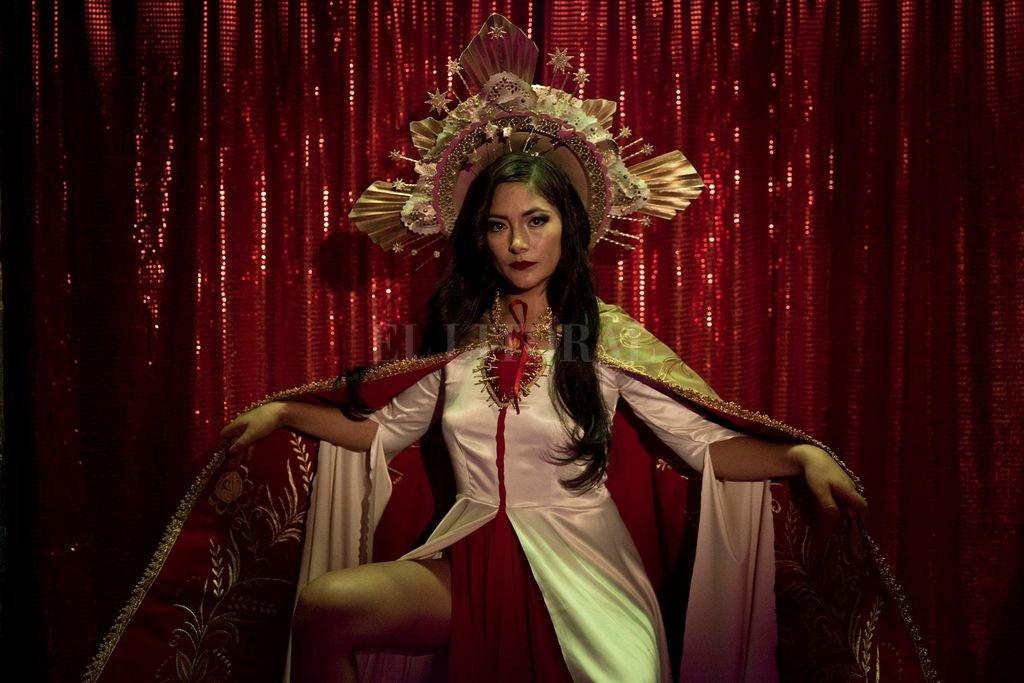 La actriz peruana Magaly Solier protagoniza el primer largometraje de ficción de la chilena María Paz González. Crédito: Gentileza Gema Films