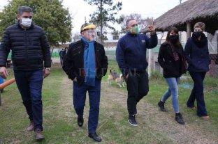 Lewandowski asistió a clubes de Ganadero Baigorria