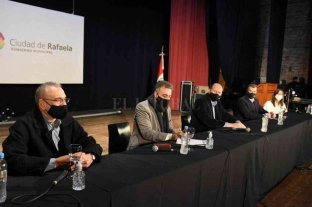 El gobernador firmó convenios por Niñez en Rafaela