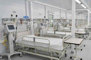 La ocupación de camas hospitalarias asciende al 53,6% en el AMBA