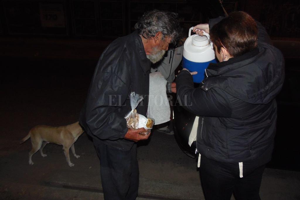 Más de 60 personas componen la población asistida por la Fundación. Crédito: Archivo El Litoral