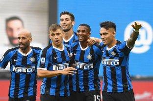 Inter aplastó a Brescia por 6 a 0