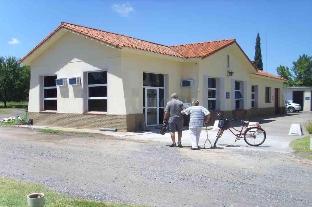 Oficina de Atención al Usuario de Esperanza corresponde al viejo estacionamiento de Obras Sanitarias. Crédito: Gentileza