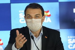 Gobernador de Santa Catarina contrajo coronavirus