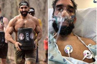 Así quedó el cuerpo de un atleta saludable y fuerte luego del coronavirus