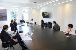 Primera participación de Fernández en la reunión del gabinete económico -  -