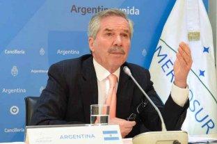 La Argentina no obstruirá los acuerdos del Mercosur