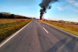Siniestro fatal en la Ruta 11, al norte de San Justo -  -