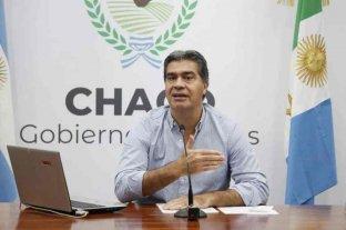 """Capitanich: """"Se está desacelerando el número de casos en Resistencia y el área metropolitana"""""""
