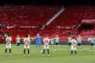 Confirman que en el fútbol español no habrá publico por el resto de la temporada