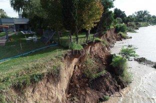 """Desmoronamientos: advierten que hay entre 800 y 900 metros """"vulnerables"""""""