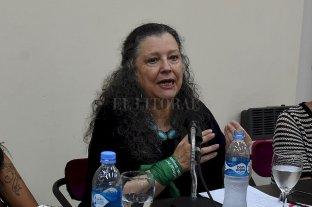 Diana Maffía inaugura la capacitación en género para agentes del municipio