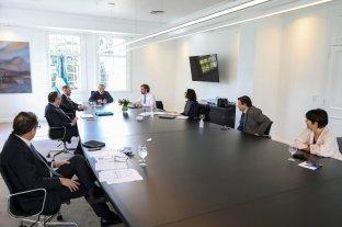 El Gobierno define una moratoria integral y herramientas para asistir a sectores críticos  - El presidente se reunió en Olivos con el gabinete económico -