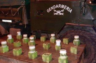 La gendarmería decomisó cremas curativas de marihuana
